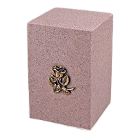 Peach Naples Cultured Cremation Urn