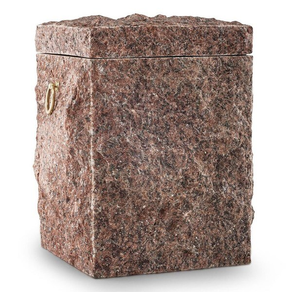 Natural Brick Stone Cremation Urn