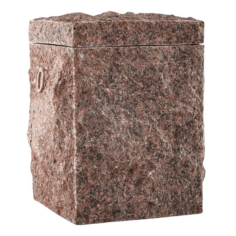 Natural Brick Stone Cremation Urn
