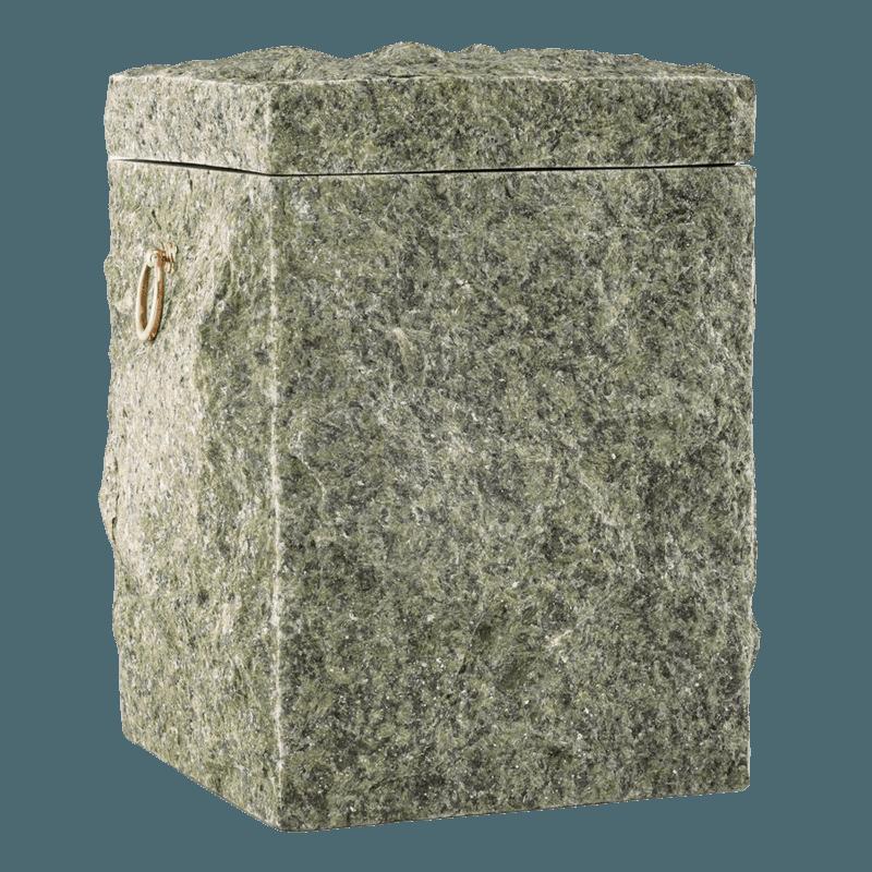 Natural Chlorite Stone Cremation Urn