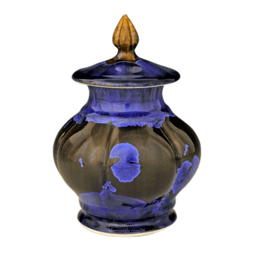 Night Sea Pet Porcelain Cremation Urn