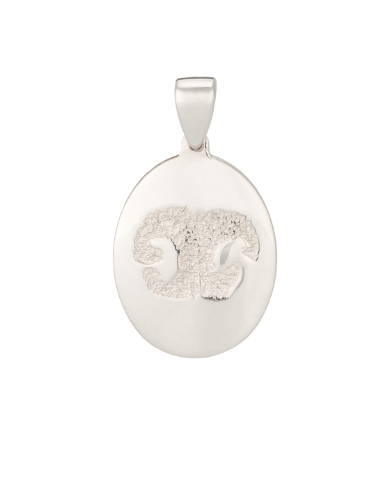 Pet Large Nose Print White Gold Keepsakes