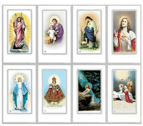Novel Prayer Cards
