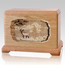 Deer Oak Hampton Cremation Urn