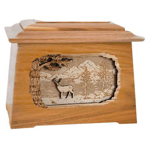 Deer Oak Aristocrat Cremation Urn