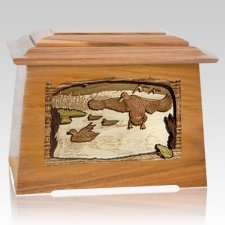 Marshland Melody Oak Aristocrat Cremation Urn