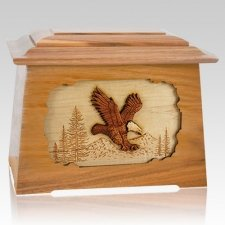 Eagle Oak Aristocrat Cremation Urn