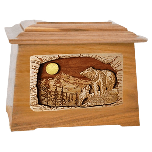 Country Haven Oak Aristocrat Cremation Urn