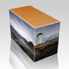 Lighthouse Oak Child Cremation Urn II
