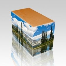 Pine Lake Oak Child Cremation Urn
