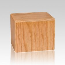 Oak Small Pet Cremation Urn