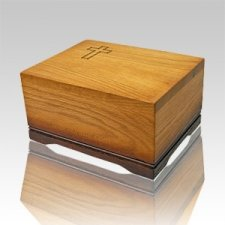Viviana Wood Cremation Urn
