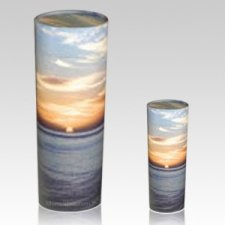 Ocean Sunset Scattering Biodegradable Urns
