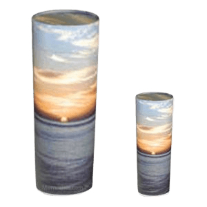 Ocean Sunset Scattering Biodegradable Urns