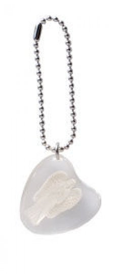 Faith Angel Stone on a Chain