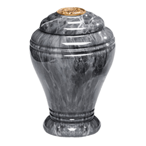 Midnight Onyx Marble Cremation Urns