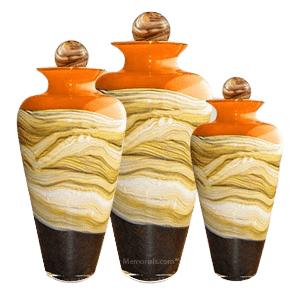 Celestial Mandarin Cremation Urns