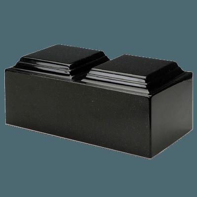 Orca Black Granite Companion Urn