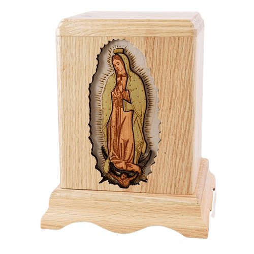Lady of Guadalupe Cremation Urn III