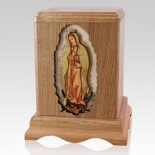 Lady of Guadalupe Cremation Urn II
