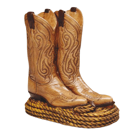 Cowboy Boots Cremation Urn
