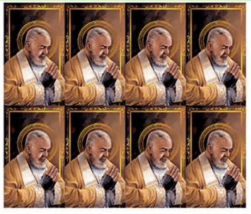 Padre Pio Prayer Cards