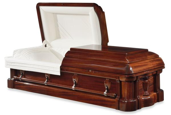 Paramount Half Couch Wood Casket