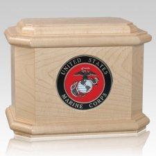 Patriot Marines Maple Wood Urn