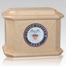 Patriot Navy Maple Wood Urn