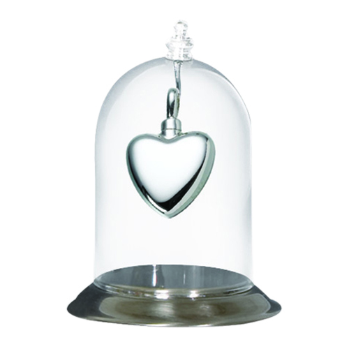 Pewter Glass Display Dome