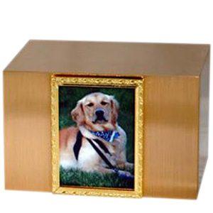 Bronze Photo Frame Cremation Urn
