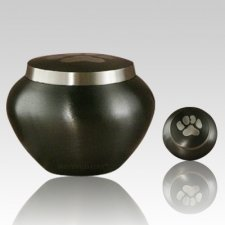 Paw Print Slate Large Pet Urn