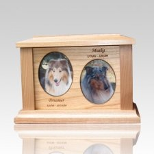 Two Forever Picture Cremation Urn - Medium
