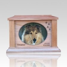 Paws Forever Picture Cremation Urn - Medium