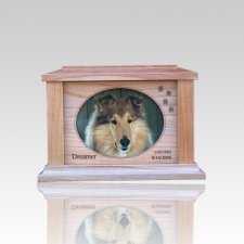 Paws Forever Picture Cremation Urn - Small