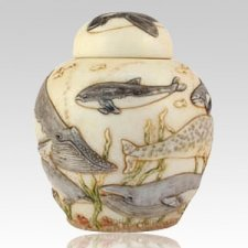 Water Ballet Pet Cremation Urn