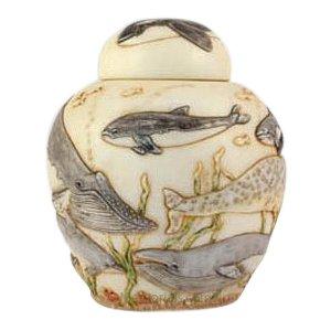 Water Ballet Pet Cremation Urn