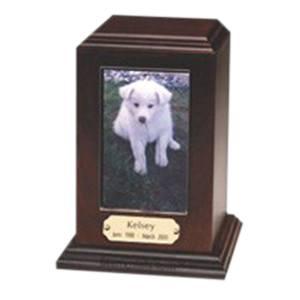 Photo Wood Pet Cremation Urn