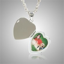 Heart Photo Keepsake Jewelry