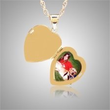 Heart Photo Keepsake Jewelry II