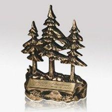 Pine Tree Keepsake Cremation Urn
