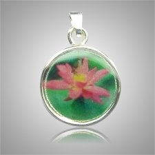 Pink Flower Keepsake Jewelry