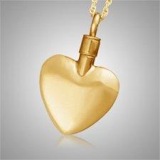Elegance Heart Keepsake Pendant II