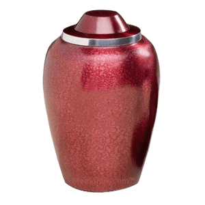 Frosted Plum Cremation Urn