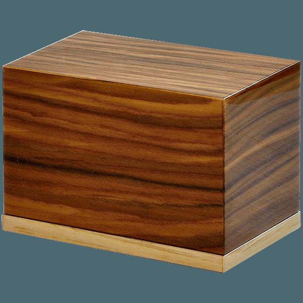 Premium Wood Keepsake Cremation Urn