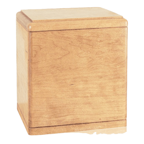 Presidents Maple Wood Cremation Urn