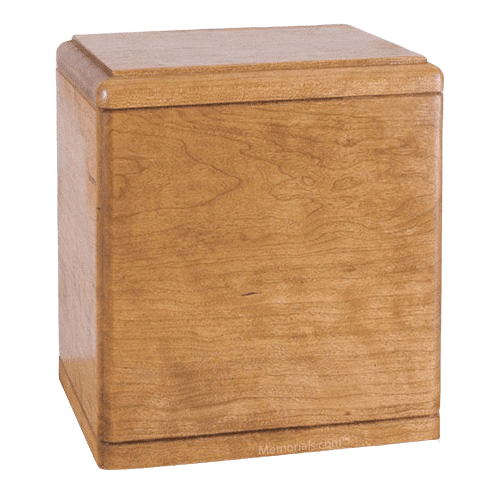 Presidents Oak Wood Cremation Urn