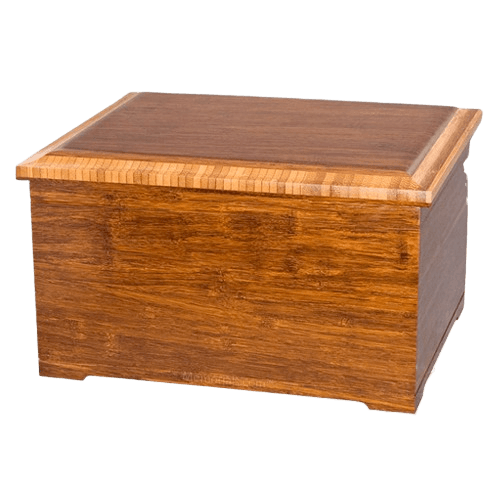 Royal Bamboo Memory Chest Cremation Urn