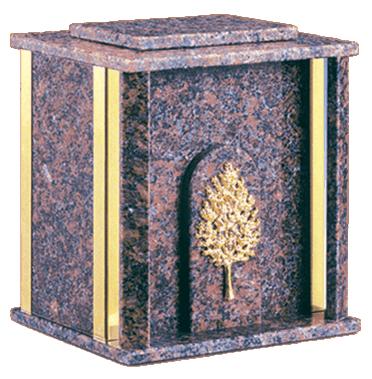Crypt Dakota Mahogany Cremation Urn
