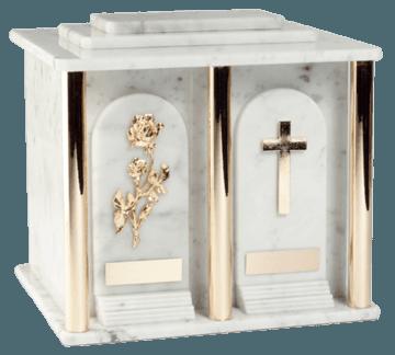 Estate Carrara Companion Urn